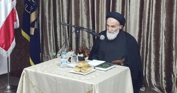 السيد فضل الله ينعي السيد نجيب خلف: جسد الإسلام بمعانيه السامية