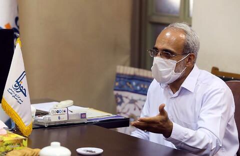 ممثل جامعة المصطفى العالمية (ص) في الهند يتفقد وكالة أنباء الحوزة بقم المقدسة