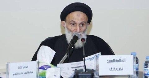 حجت الاسلام و المسلمین سید نجیب خلف الحسنی
