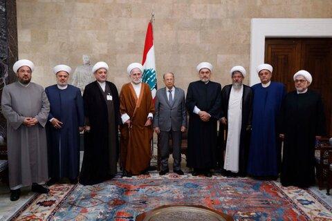 میشل عون و تجمع علمای مسلمان لبنان