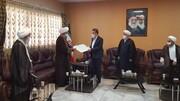 قدردانی هیئت رئیسه مجمع عمومی جامعه مدرسین  از دکتر قدیر به نمایندگی از جامعه سلامت