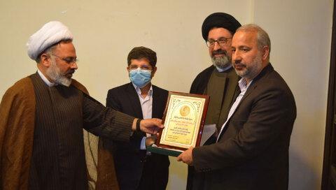 مراسم تودیع معاون اداری نمایندگی جامعه المصطفی العالمیه در لبنان برگزار شد