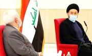 السید عمار الحکیم یؤکد لظریف وجود مسعی سیاسی لإخراج القوات الأجنبیة عبر الحوار