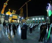 پرچم حرم امامین کاظمین (علیهما السلام) تعویض شد +تصاویر