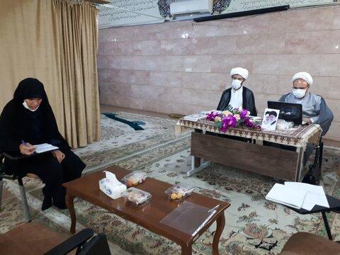 جلسه دفاع خانم اذر جمالی