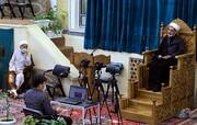 تصاویر/ سوگواری شهادت امام جواد (ع) در بیوت مراجع و علما
