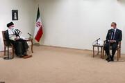 بالصور/ لقاء رئیس وزراء العراقي مصطفی الكاظمي بالامام الخامنئي