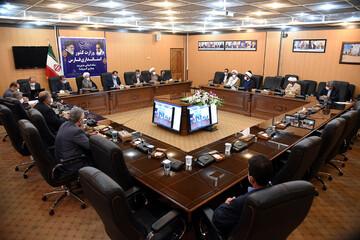 تصاویر| نشست ائمه جمعه و فرمانداران استان فارس از طریق ویدئو کنفرانس