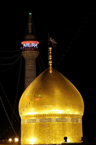تصاویر/ حال و هوای حرم حضرت معصومه(س) در شب شهادت حضرت امام جواد(ع)