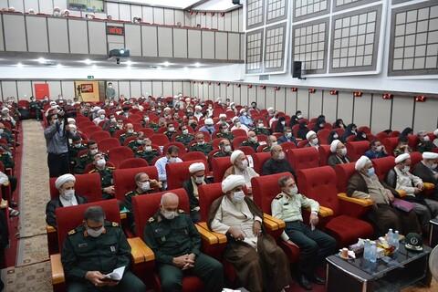 تصاویر/ تودیع و معارفه مسئول نمایندگی ولی فقیه در سپاه شهدای آذربایجان غربی