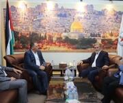 النخالة يستقبل السفير الفلسطيني في بيروت: تأكيد على وحدة الموقف
