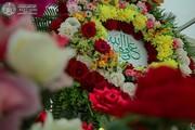 گلآرایی حرم علوی به مناسبت سالروز ازدواج حضرت زهرا(س) و حضرت علی (ع)