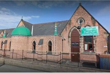 مسجد جامع بارتون انگلیس به مرکز آزمایش کرونا تبدیل شد