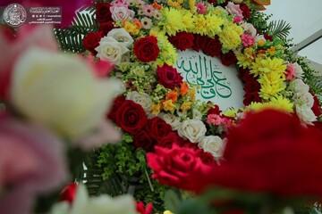 گلآرایی حرم علوی به مناسبت سالروز ازدواج حضرت زهرا(س) و حضرت علی (ع) + تصاویر