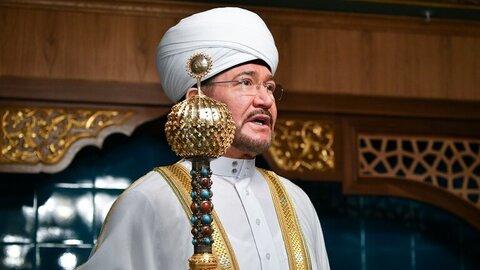شیخ راوی عین الدین رئیس شورای مفتی های روسیه