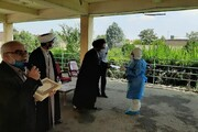 تصاویر/ تجلیل امام جمعه سلماس از جهادگران عرصه سلامت