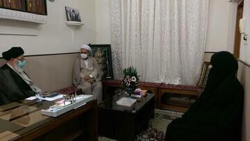 مسائل و مشکلات مدرسه علمیه حضرت نرجس(س) محمدآباد بررسی شد