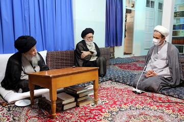 تصاویر/ دیدار سخنگوی کمیسیون آموزش و تحقیقات مجلس شورای اسلامی با حضرت آیت الله علوی گرگانی