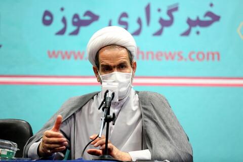 تصاویر/ نشست خبری حجت الاسلام والمسلمین فلاحی سخنگوی آموزش مجلس