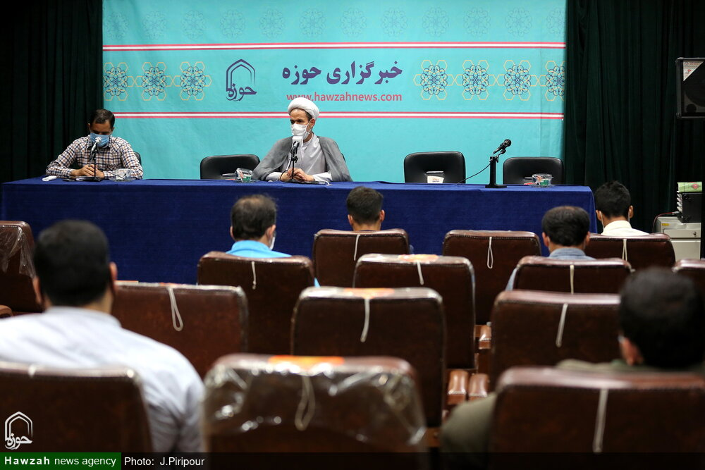 تصاویر/ نشست خبری سخنگوی کمیسیون آموزش و تحقیقات مجلس شورای اسلامی در قم