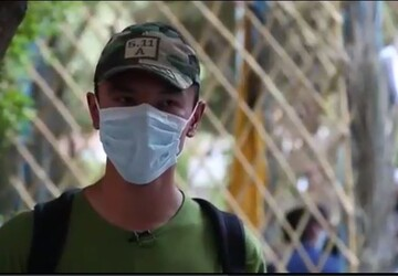 فیلم | توزیع رایگان ماسک توسط جوانان لشکر فاطمیون افغانستان در میان مردم
