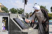 تجدید پیمان ائمه جمعه استان قزوین با آرمانهای امام و شهدا + عکس