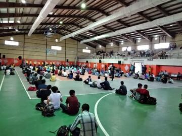 """مسابقات ورزشی"""" قربان تا غدیر"""" با حضور ۴۰ تیم ورزشی در قم آغاز شد"""