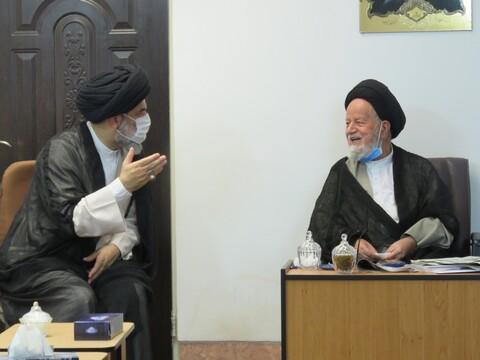 تصاویر/ سفر معاون ارتباطات و امور حوزههای علمیه خواهران کشور به سمنان