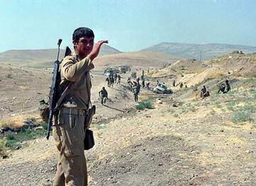 خاطرات روحانی همدانی از عملیات مرصاد/ اولین نفری که تجاوز منافقین را به اطلاع مسئولان  رساند + فیلم