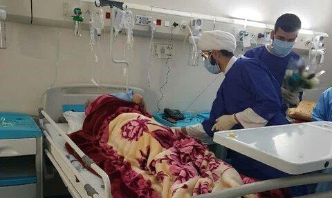 حضور طلاب جهادی در بیمارستان ها