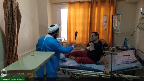 طلاب جهادی در بیمارستان ها
