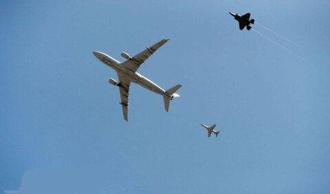 تعرض به هواپیمای ماهان