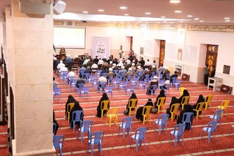 مراسم گرامیداشت پنجم مرداد ، سالروز اقامه اولین نماز جمعه در کشور در  مسجد جامع بندرعباس