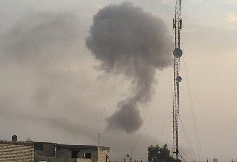 انفجار اردوگاه نظامی الصقر