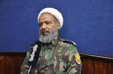 عادل الکرعاوی یکی از فرماندهان حشد الشعبی