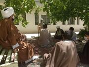 برگزاری دوره یک ماهه طلاب پایه اول مدرسه علمیه تکاب + تصاویر