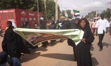 راهپیمایی شیعیان کشور گینه برای آزادی شیخ زکزاکی +تصاویر