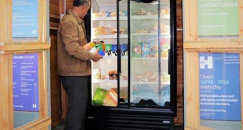 Halifax Mosque launches community fridge
