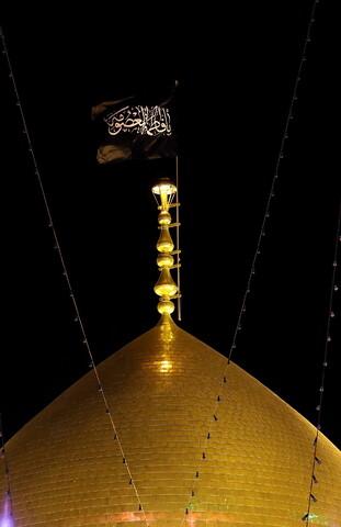 تصاویر/ حال و هوای حرم حضرت معصومه(س) در شب شهادت امام جواد(ع)