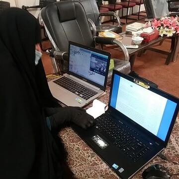 اساتید متقاضی تدریس حوزه خواهران یزد ارزیابی علمی و مهارتی شدند