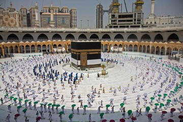 The hajj takes on a much different feel as Muslims make a coronavirus-era pilgrimage