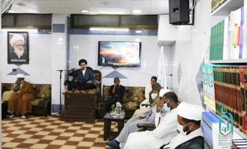 برگزاری مراسم شهادت امام باقر(ع) در دفتر آیتالله یعقوبی در سوریه