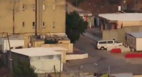 Video shows how Israeli troops move stealthily inside Avivm military base on Lebanon's border for fear of Hezbollah