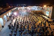 تصاویر/ مراسم بزرگداشت امام جمعه موقت یزد در مدرسه علمیه مصلا