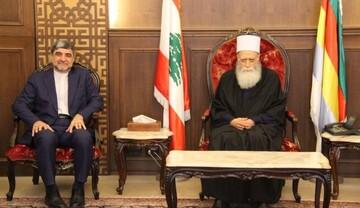 شيخ العقل يلتقي سفير ايران ووفدا من حماس: ندعم الموقف اللبناني لتجاوز الازمات