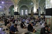 تصاویر/ دعای پرفیض عرفه در حرم هلال بن علی آران و بیدگل