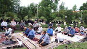 قرائت دعای عرفه در مجتمع فرهنگی حضرت معصومه (س) پرهسر