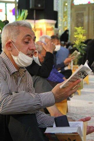 دعای پرفیض عرفه در حرم هلال بن علی آران و بیدگل