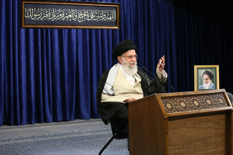 صوت کامل بیانات رهبر انقلاب به مناسبت عید سعید قربان