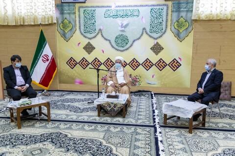تصاویر دیدار امام جمعه یزد با رئیس بنیاد شهید کشور
